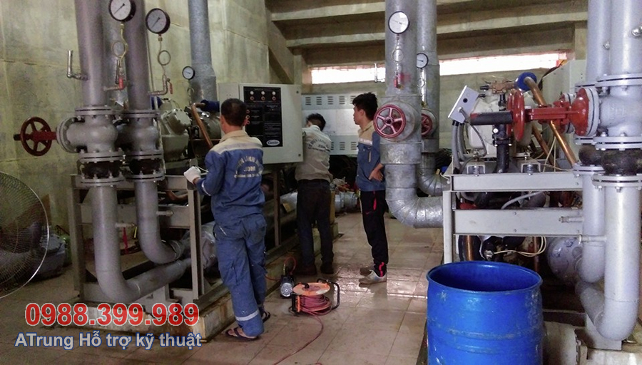 Hệ thống Chiller Carrier